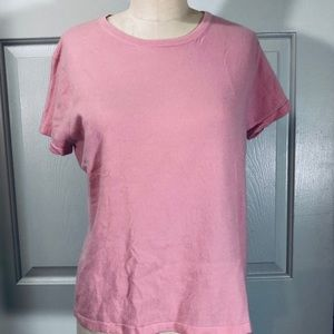 Lilly Pulitzer Cashmere Short Sleeves Pink